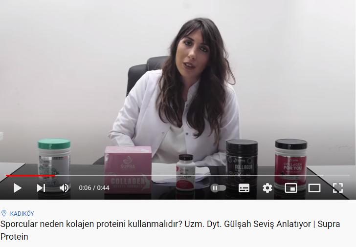 Kolajen, Spor ve Beslenme İlişkisi Nedir Youtube
